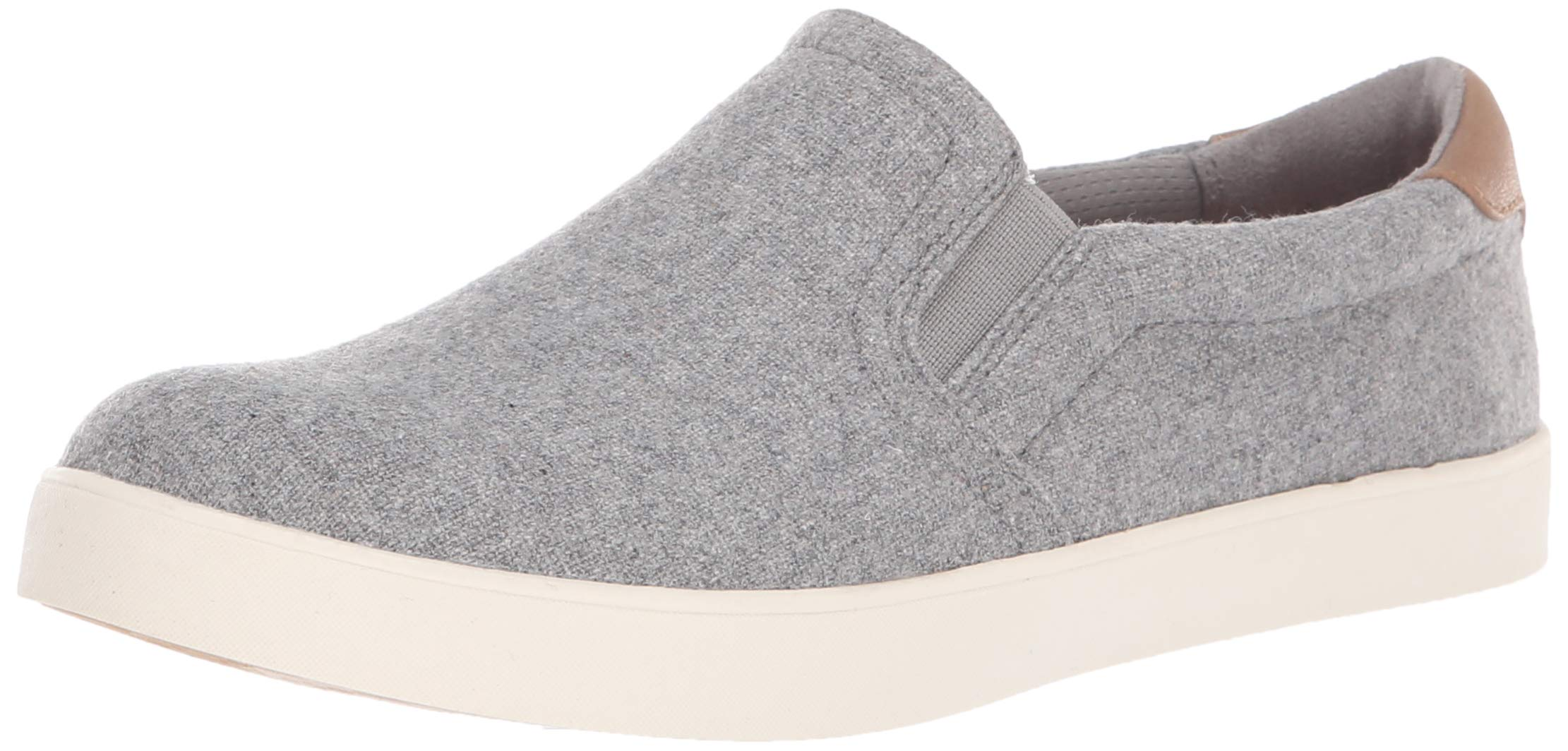 Dr. Scholl's Shoes Women's Madison Sneaker Light Grey Flannel Fabric 6.5 M US