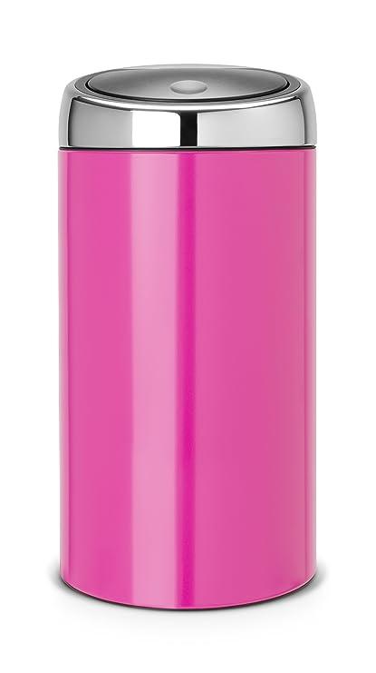 Touch Bin 45 Liter.Brabantia De Luxe Touch Bin 45 Liter Radiant Rose Amazon Ca Home