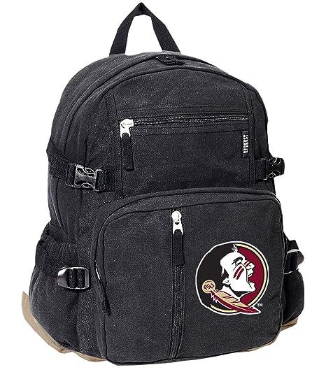 Amazon com : Broad Bay Deluxe FSU Backpack Canvas Florida