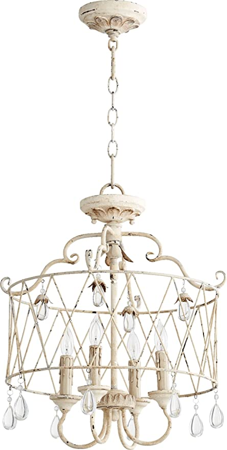quorum lighting 2844 4 70 venice drum pendant 4 light 80 total