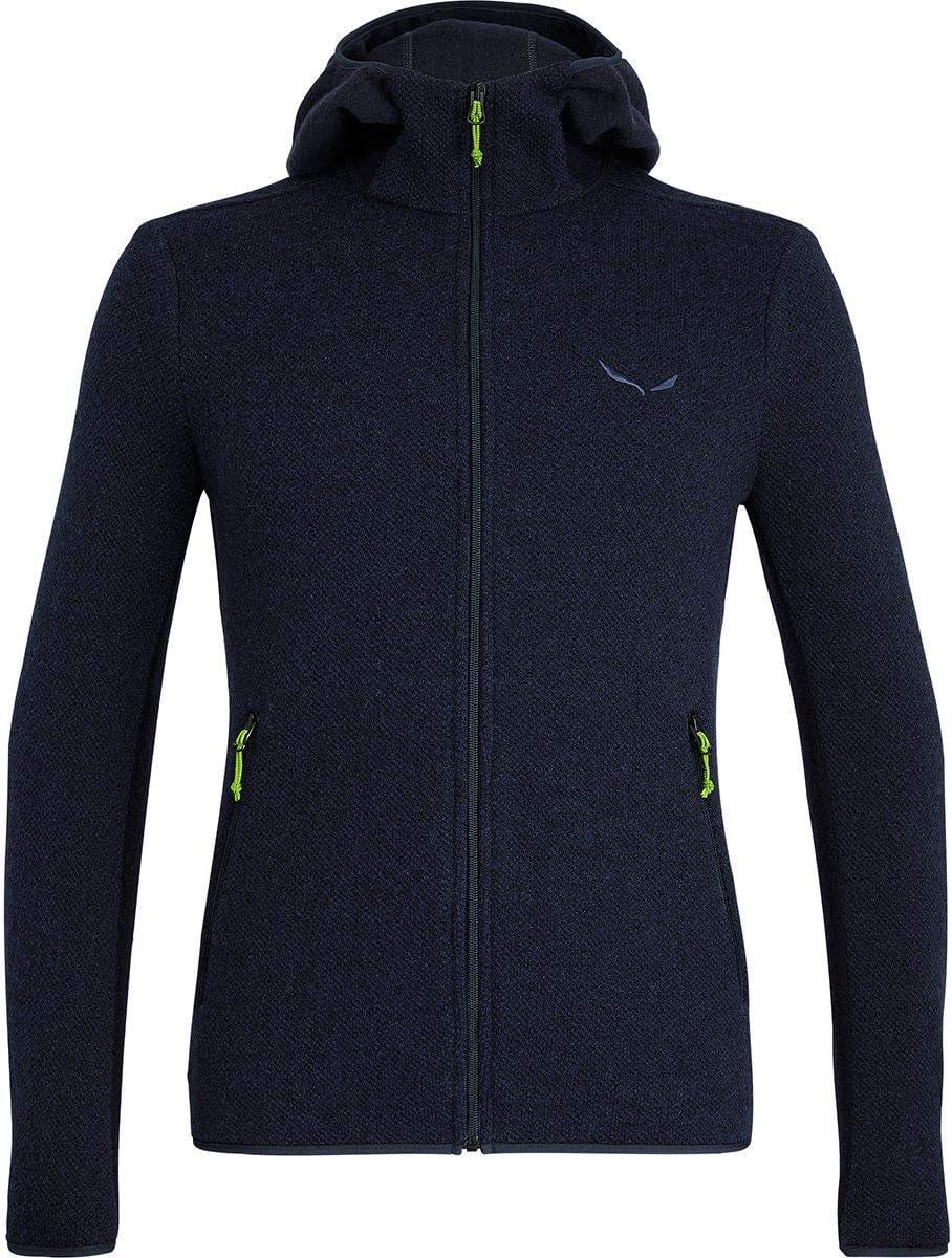 Quiet Shade Melange Salewa Fanes Hybrid Wool Jacket