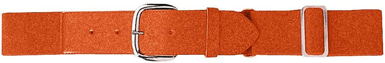 Augusta Sportswearメンズ伸縮性野球ベルト B003WXUTGM One Size オレンジ オレンジ One Size