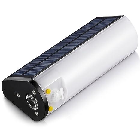 Luces LED de Energía Solar Linterna Portátil con Pilas Lámpara al Aire Libre para el Senderismo