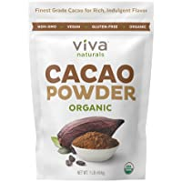 Viva Naturals #1 Best Selling Certified Organic Cacao Powder from Superior Criollo...