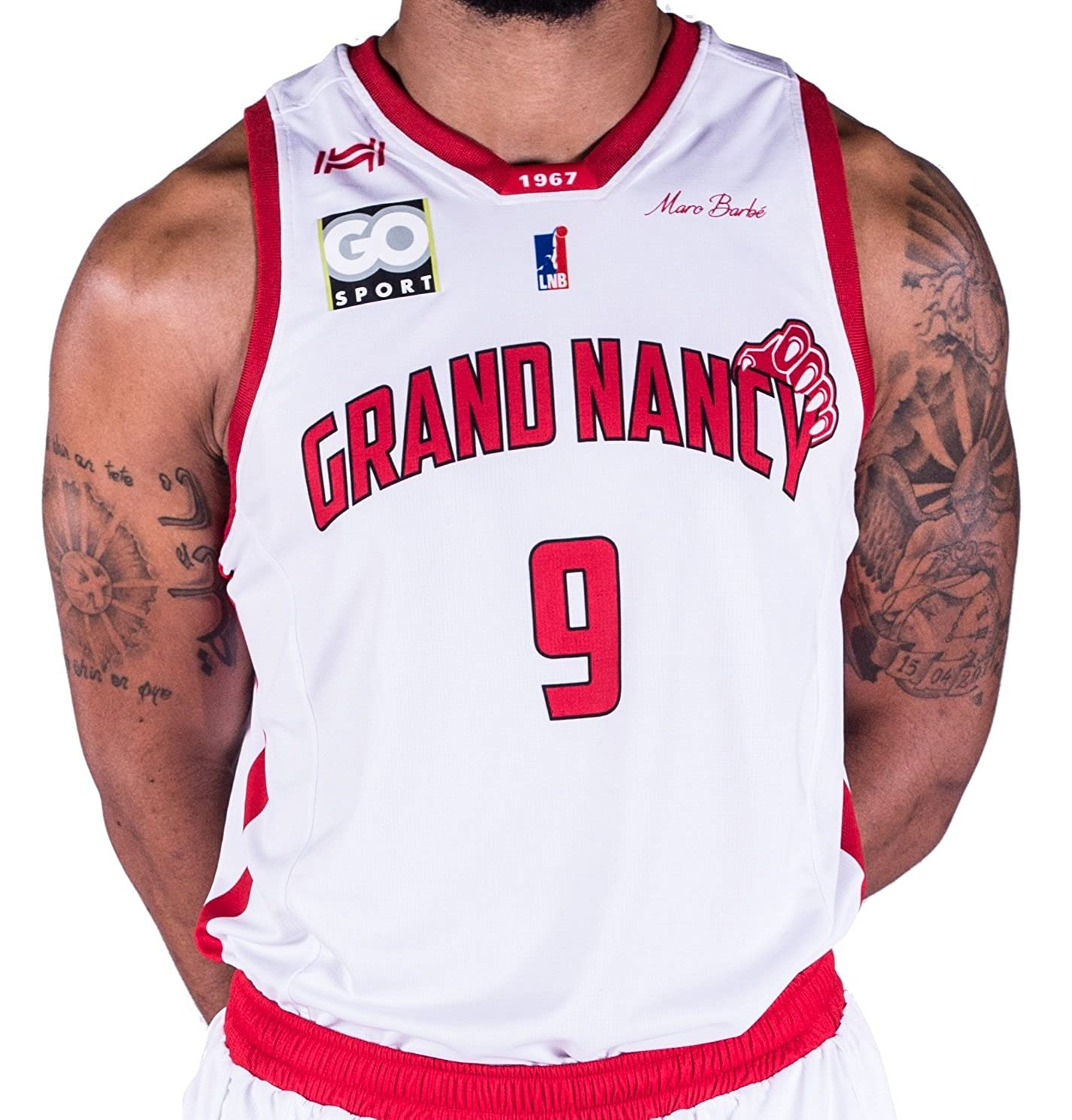 Hungaria Sluc Nancy Oficial – Camiseta de Baloncesto para niño ...