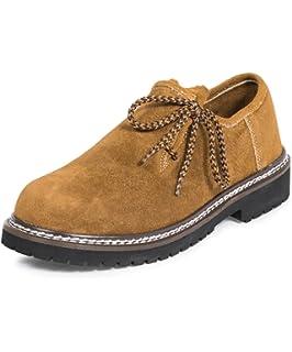 Wolpertinger W079151B43, Chaussures basses homme - Marron (Crazy Horse brown), 37 EU