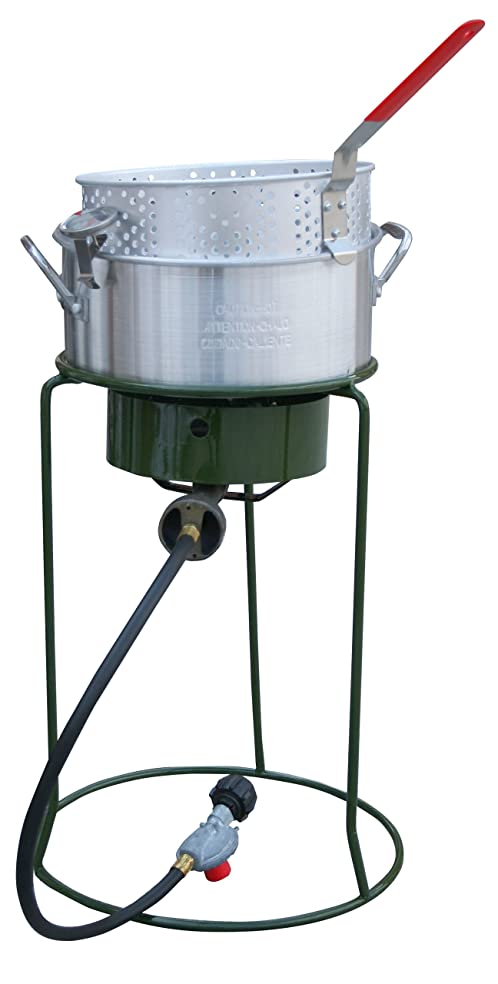 Sportsman Series SBCOOK Single Basket Outdoor Cooker and Fryer with Single Burner