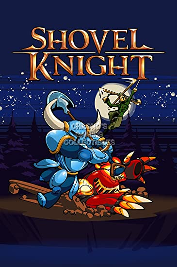 Shovel Knight poster print