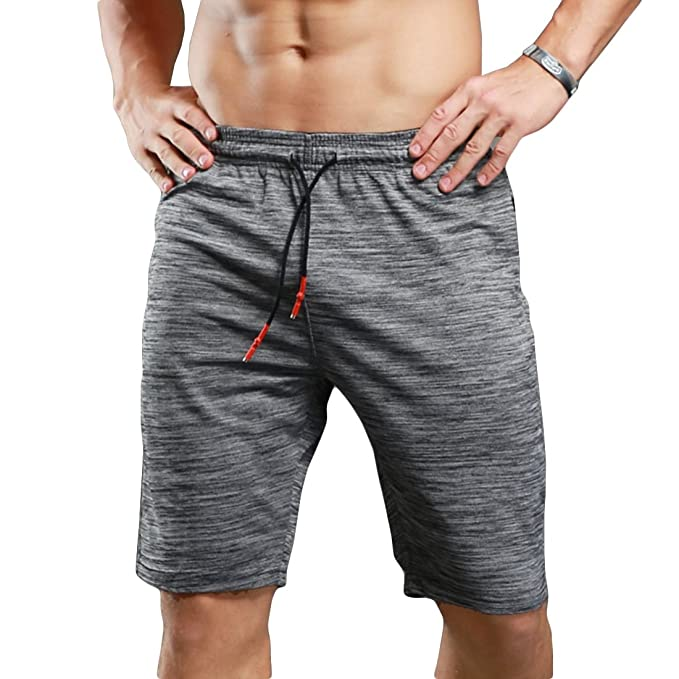 af4cd05b57ae11 SEVENWELL Men's Quick-Dry Lightweight Pace Running Shorts Gym Workout  Active Sport Shorts for Men