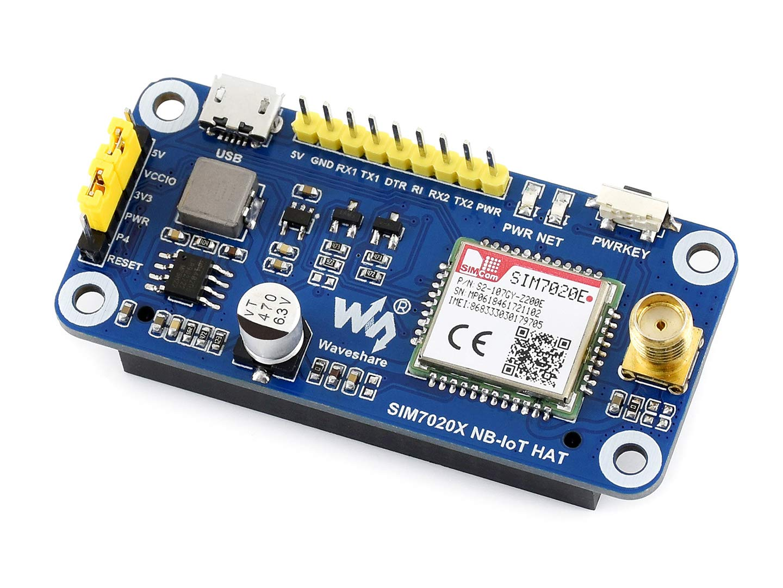 Amazon com: SIM7020E NB-IoT HAT for Raspberry Pi Based on SIM7020E
