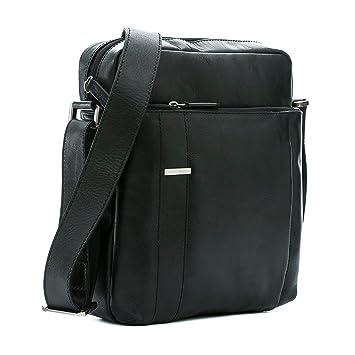 Amazon.com   VÉLEZ 20201 Men Genuine Leather Crossbody Bag   Bandolera De Cuero Black   Backpacks