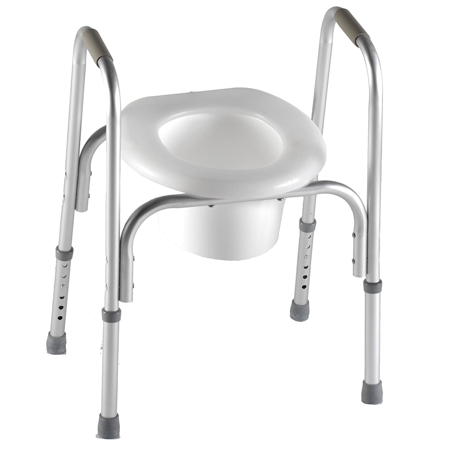 Amazon.com: PCP Raised Toilet Seat with Safety Frame Two-in-One ...