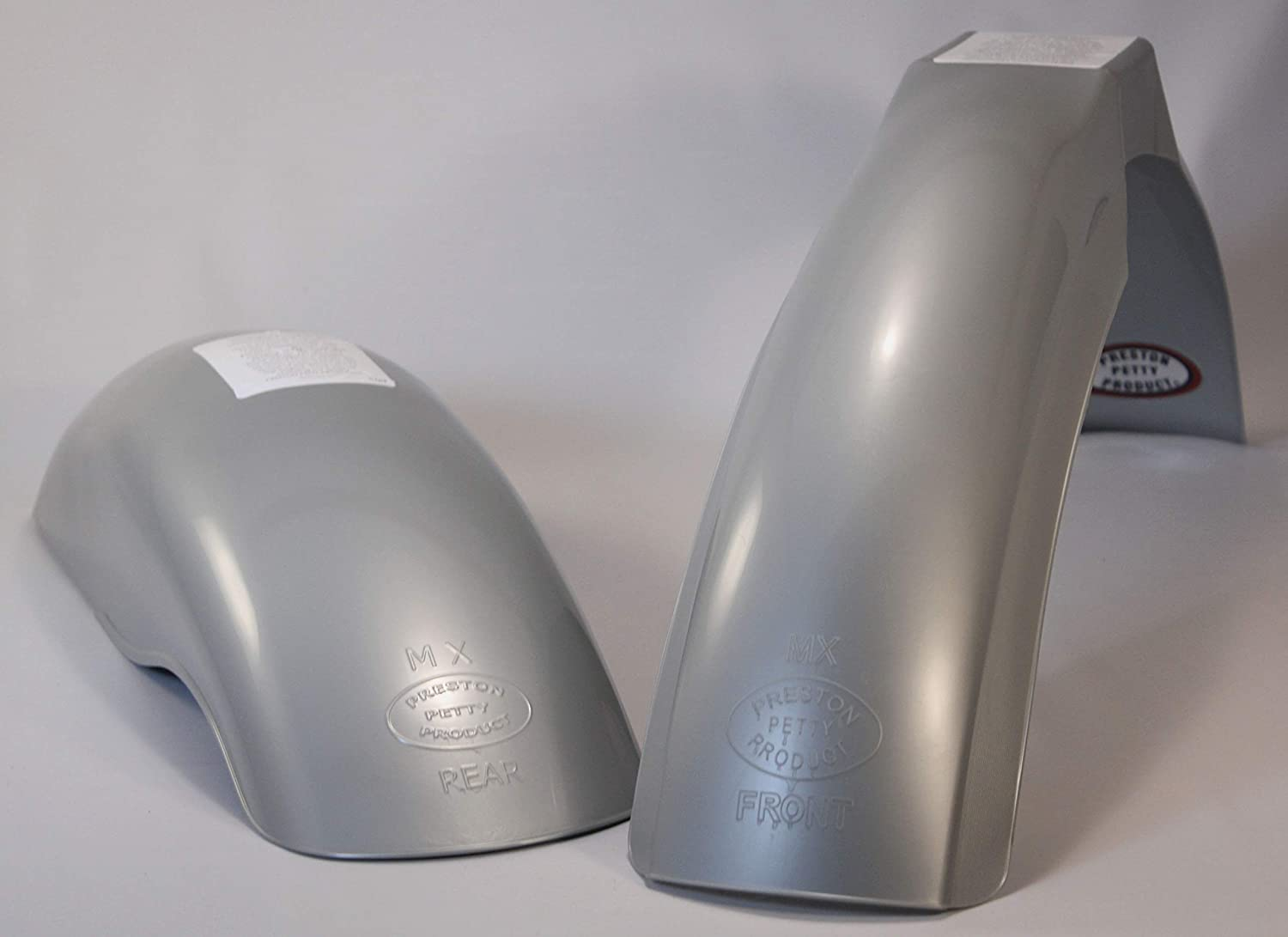 MX Fender Authentic Preston Petty Products Rear Silver