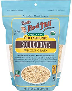 product image for Bob's Red Mill Organic Old Fashioned Rolled Oats 1 Pound (Pack of 2)