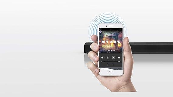 Panasonic SC-HTB200EGK - Barra de Sonido para el Hogar (Conexión HDMI, TV, Inalámbrico y Alámbrico, Home Cinema, 2.0 Canales, 80 W) + AmazonBasics: Amazon.es: Electrónica