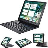 LENRICH iPad pro 12.9 case with keyboard 2017 2015,360 Rotatable Wireless Keyboard Smart Folio 180 Swivel Stand Hard…