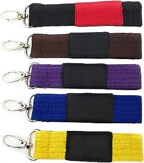 Amazon.com: Llavero para cinturón de engranajes de Jiu Jitsu ...