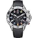 Nautica NST Chrono Flag A24520G - Reloj cronógrafo