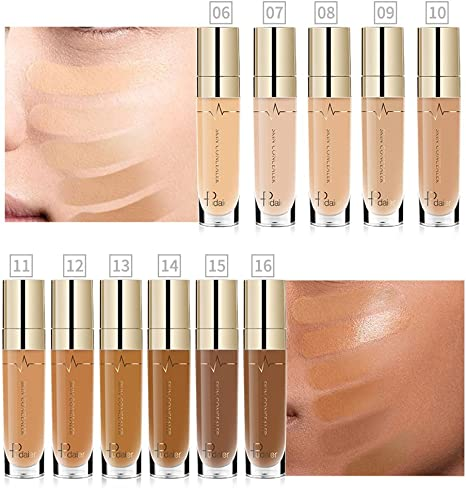 Toamen Ojo De La FundacióN De La Cara Corrector Resalte Contorno LíQuido Stick Maquillaje Natrual Crea (4): Amazon.es: Belleza