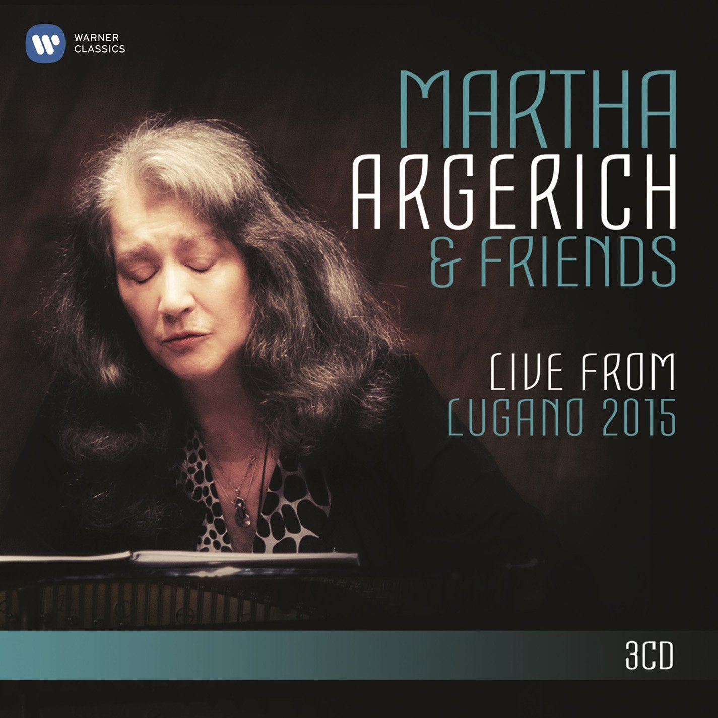 CD : Martha Argerich - Live From Lugano Festival 2015 (3PC)