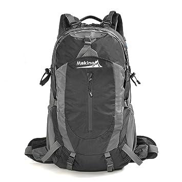 Makino al aire libre Camping mochila mochila 40L/50L con protector de lluvia: Amazon.es: Deportes y aire libre