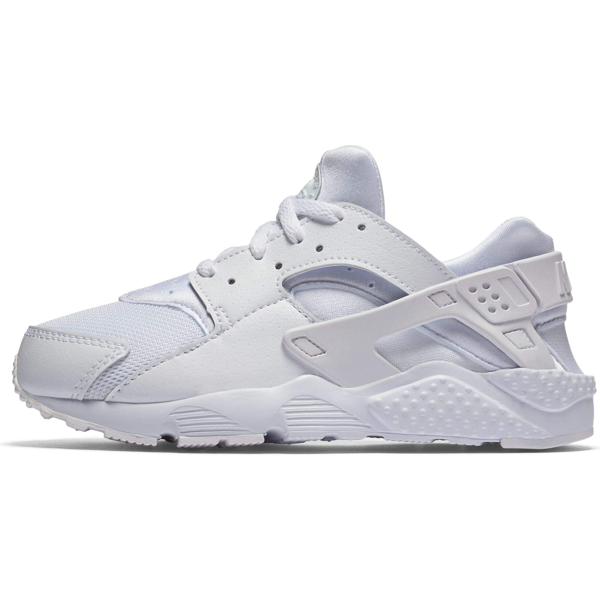 cd2c53f8b1 Galleon - Nike Huarache Run PS Little Kids Running Shoes, 1Y, White/Gym  Red-Bright Crimson