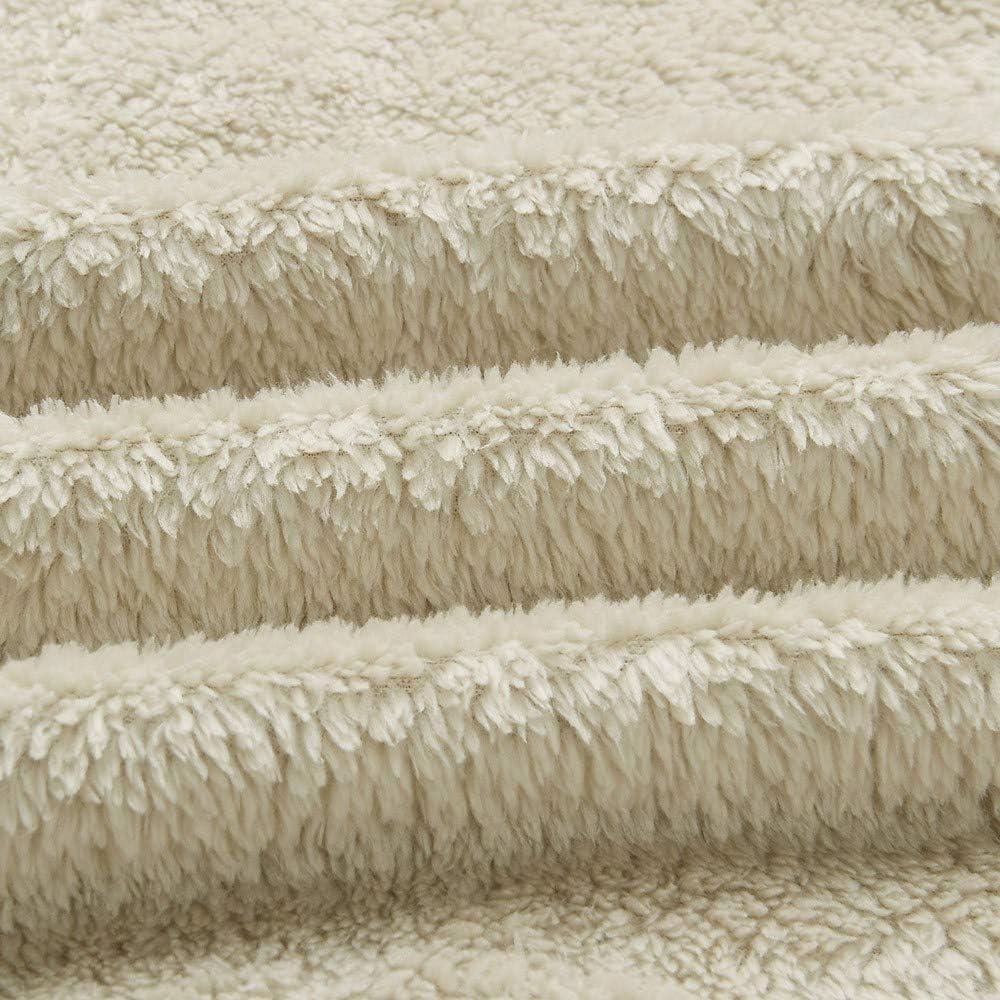 Womens Fashion Lapel Button Down Long Cardigan Coat Faux Shearling Cozy Fluffy Outwear Jackets Miuye yuren