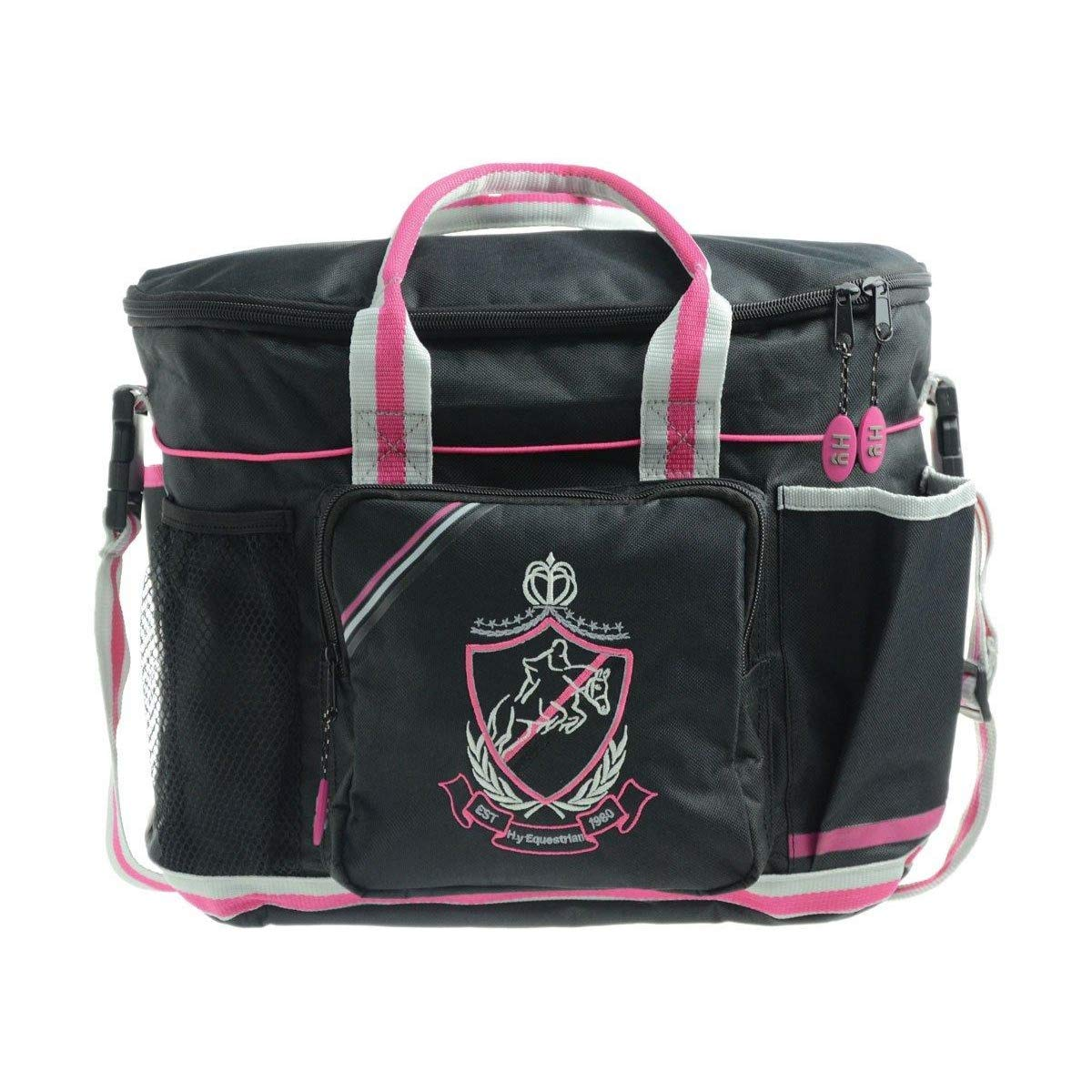 Black Pink Grey UK Size  One Size Black Pink Grey UK Size  One Size HySHINE Pro Grooming Bag