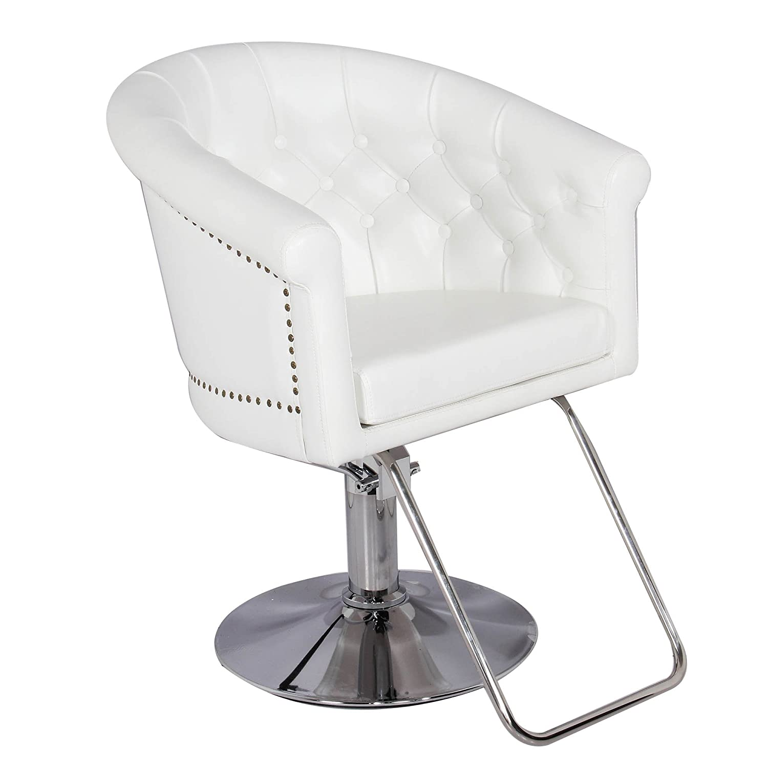 Amazon Generic Hydraulic Styling Chair White Barber Chair