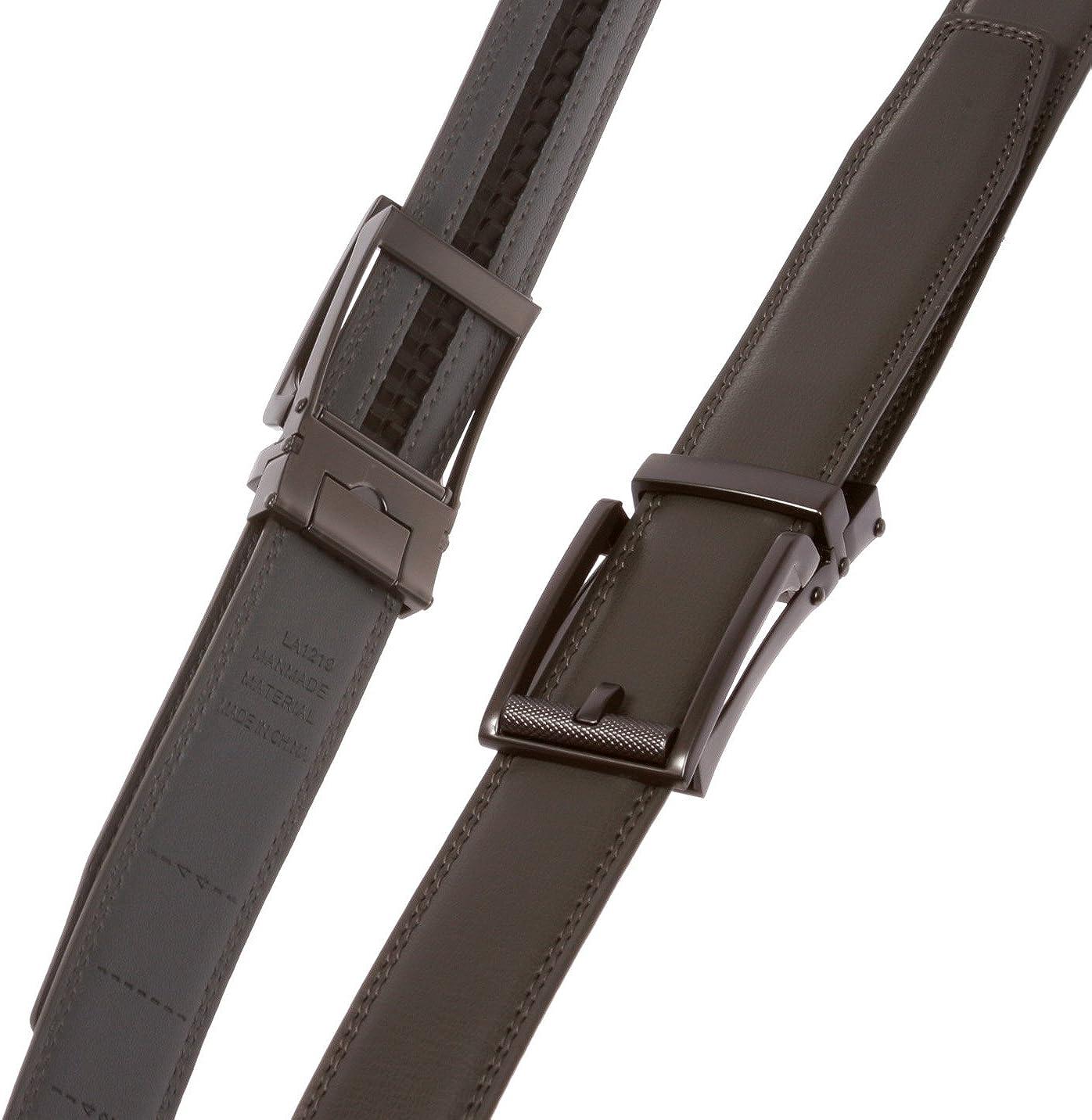Mens Adjustable Automatic Ratchet Slide Perfect Fit Belt