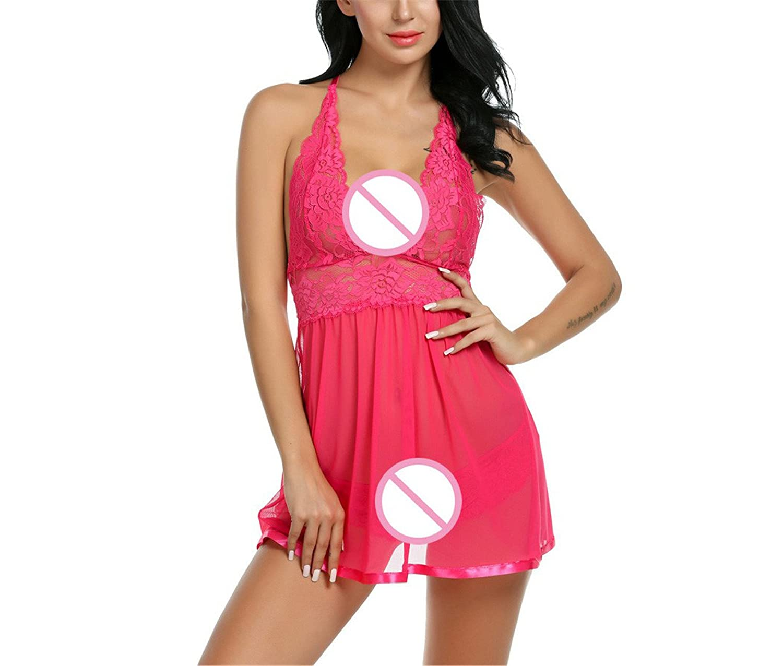 MEILIDONGREN Baby Doll Lingerie Erotic Women Sexy Night Dress Lace ...