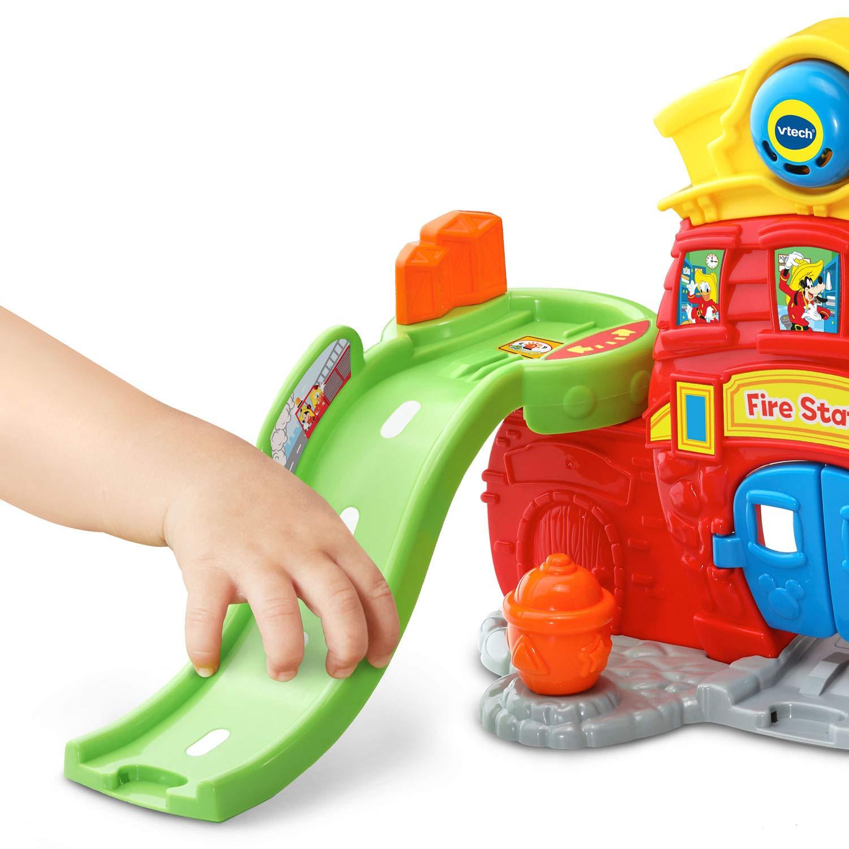 VTech Go! Go! Smart Wheels Mickey Mouse Silly Slides Fire Station by VTech (Image #4)