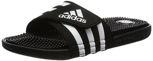 e20896cbd6cc52 adidas Herren Adissage Dusch-   Badeschuhe Schwarz Black Running White  FTW)