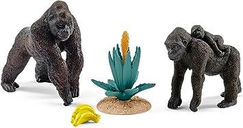 Schleich - Familia Gorila (42276): Amazon.es: Juguetes y juegos