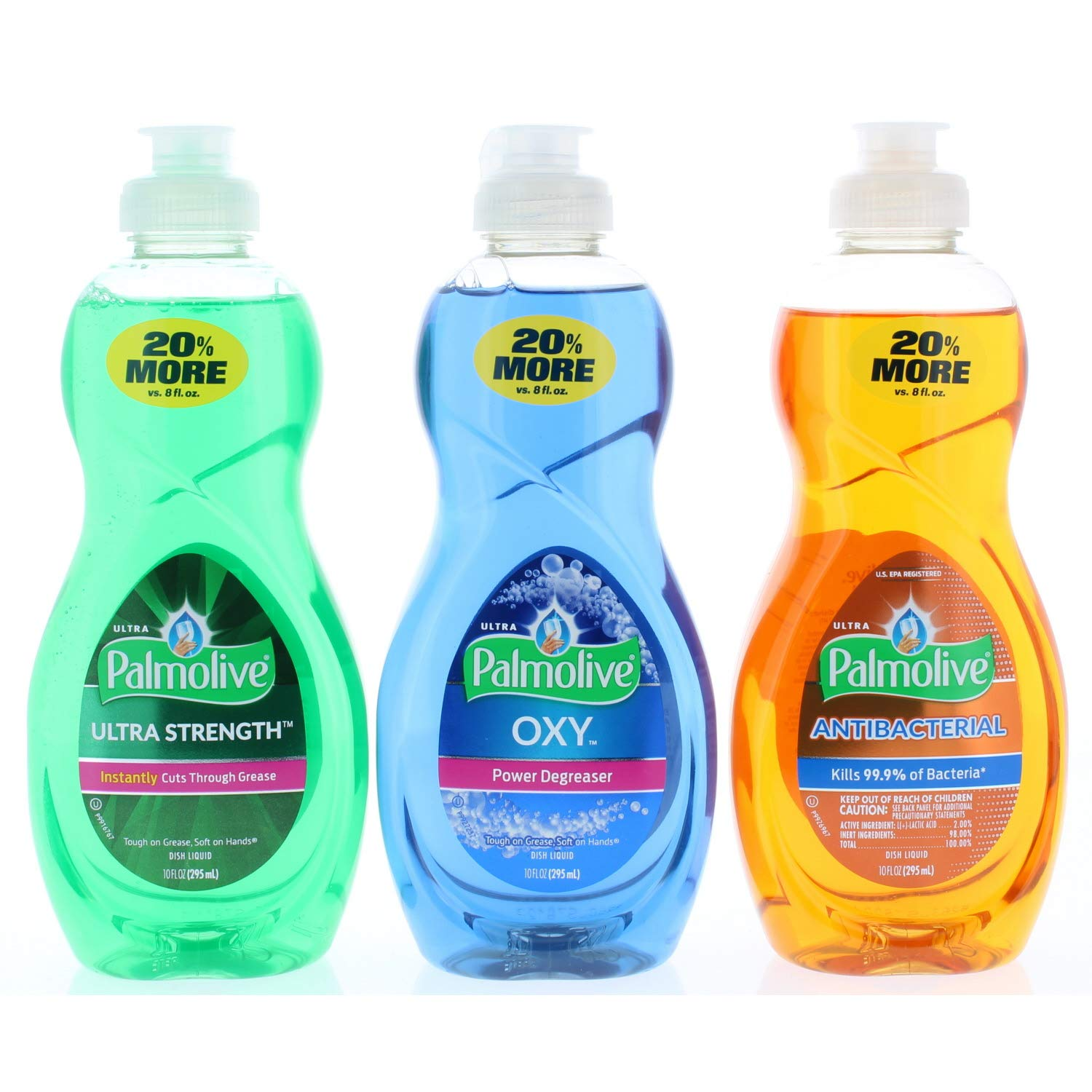 Palmolive Dishwashing Soap 10 oz Trial Size (Variety Pack)