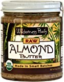 Wilderness Poets Almond Butter - Raw & Organic - 8 oz (227 g)