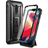 SUPCASE Unicorn Beetle Pro Series Case for OnePlus 7/6T, Full-Body Rugged Holster Kickstand OnePlus 7/6T Case with Built-in S