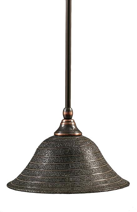 Amazon.com: Toltec iluminación 23-bc-431 Stem mini-pendant ...