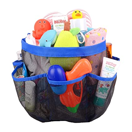 Amazon.com: Baby Shower Caddy Tote,Kids Camp Spa Shower Caddy With 9 ...