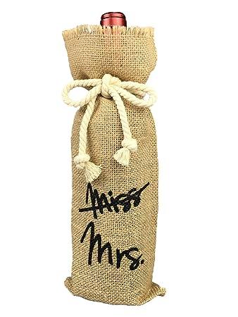 Amazon.com: Decoraciones de fiesta. Bolsa de arpillera para ...