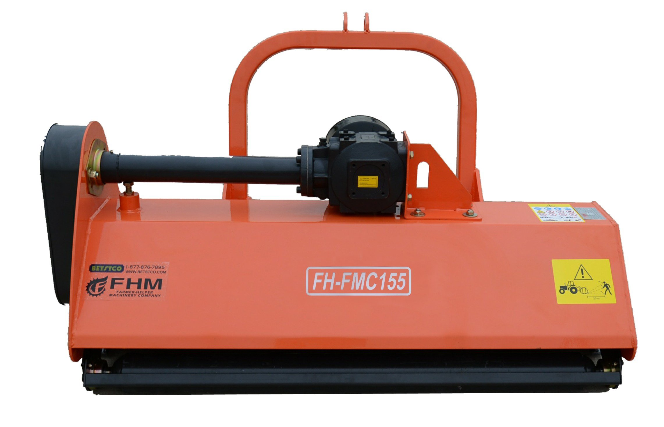 60'' Centered Heavy Duty Flail Row Mower with Hammer Blades 3 Point Requires a Tractor. Not a standalone Unit.
