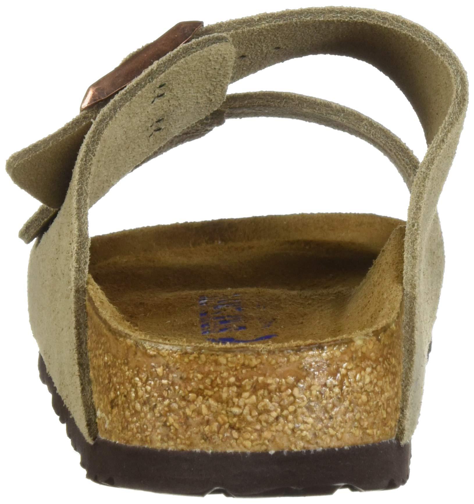 Birkenstock Arizona Soft Footbed Taupe Suede Regular Width - EU Size 35 / Women's US Sizes 4-4.5 by Birkenstock (Image #2)