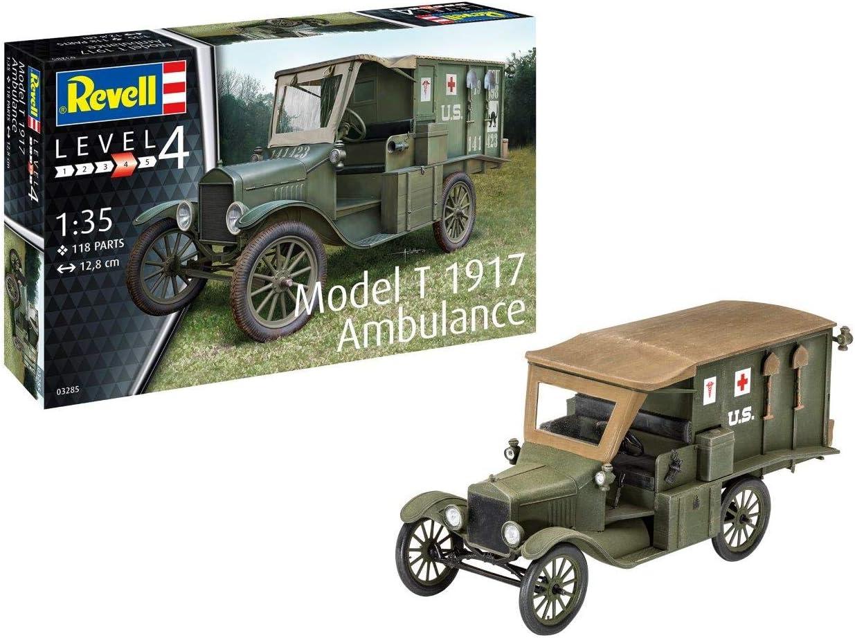 Revell GmbH 03285 1:35 T 1917 Ambulance Plastic Model Kit