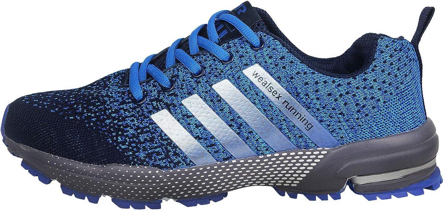 Wealsex Zapatos para Correr En Montaña Asfalto Aire Libre Deportes ...
