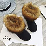 Fur Booties for Women, Sunyastor Women Boots