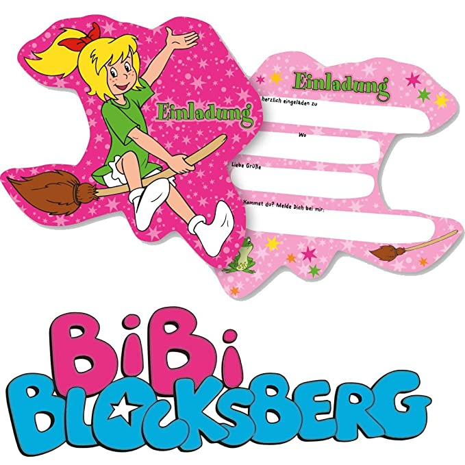 6 tarjetas de invitación * Bibi Blocks Montaña * para Fiesta ...