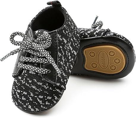 Baby Girl Boy Comfy Sole Anti-Slip Multicolor Canvas Sport Sneakers Shoes