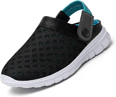 SAGUARO Zuecos Niños Sandalias Respirable Malla Zapatillas de Playa Resbalón en Jardín Zapatos: Amazon.es: Zapatos y complementos