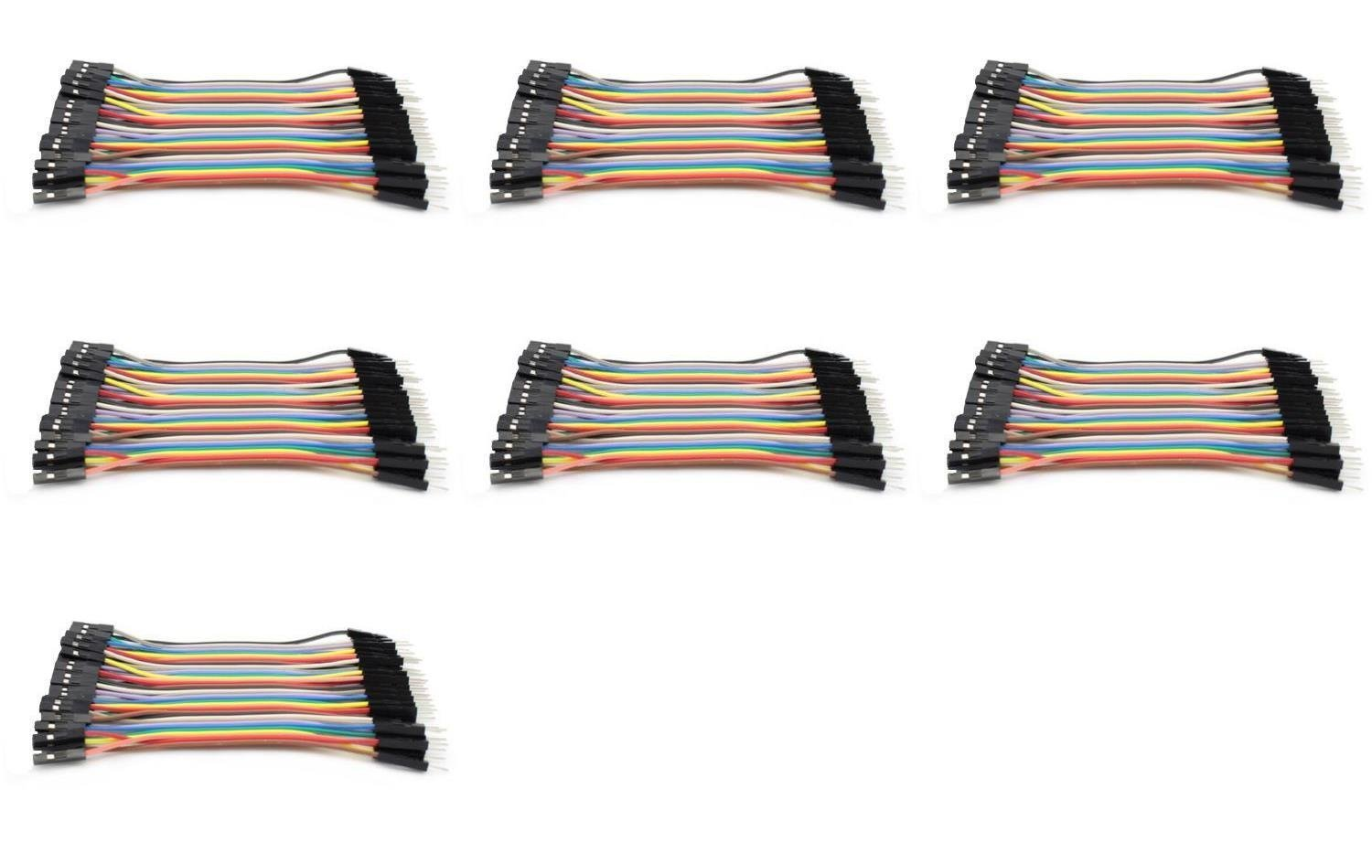 7 x Quantity of Walkera Runner 250 DIY Dupont 40 Qty 10cm 2.54mm 1pin Female to Male Jumper Wire Cables - FAST FROM Orlando, Florida USA!