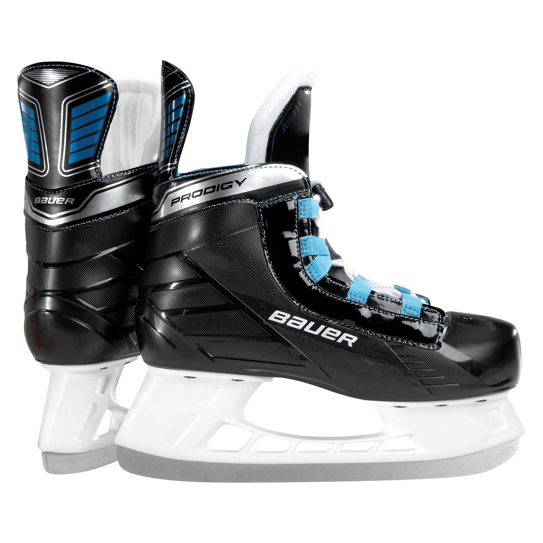 Bauer Prodigy Adjustable Youth Ice Hockey Skates - Size 9 D